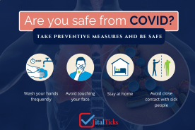Are you safe from COVID? Take preventive measures and be safe!