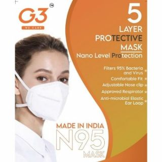 G3 N95 Respiratory Face Mask | 5 Layer Filter