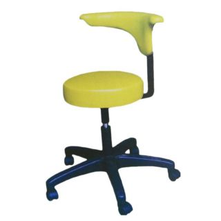 IDM Dental Stool With Backrest