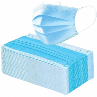 3 Ply Face Mask (With Nosepin)