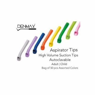 Denmax High Volume Suction Tips