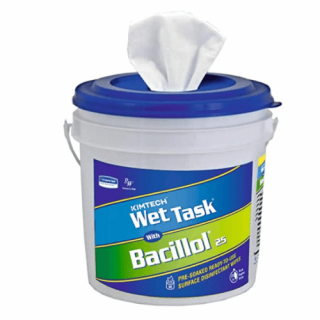 WETTASK With bacillol 25 Surface Wiping System